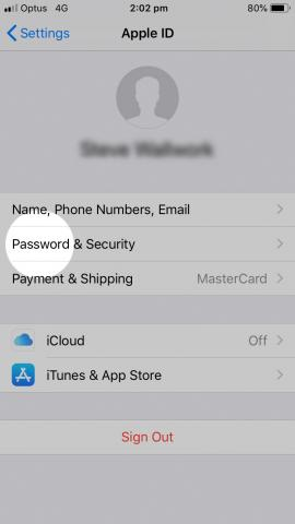 apple ID step 1.2